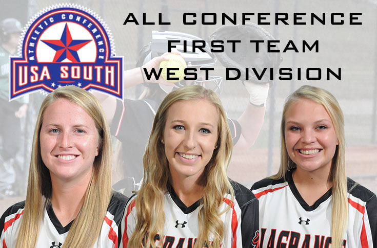 Softball: Panthers place three on USA South All-Conference, West Division teams