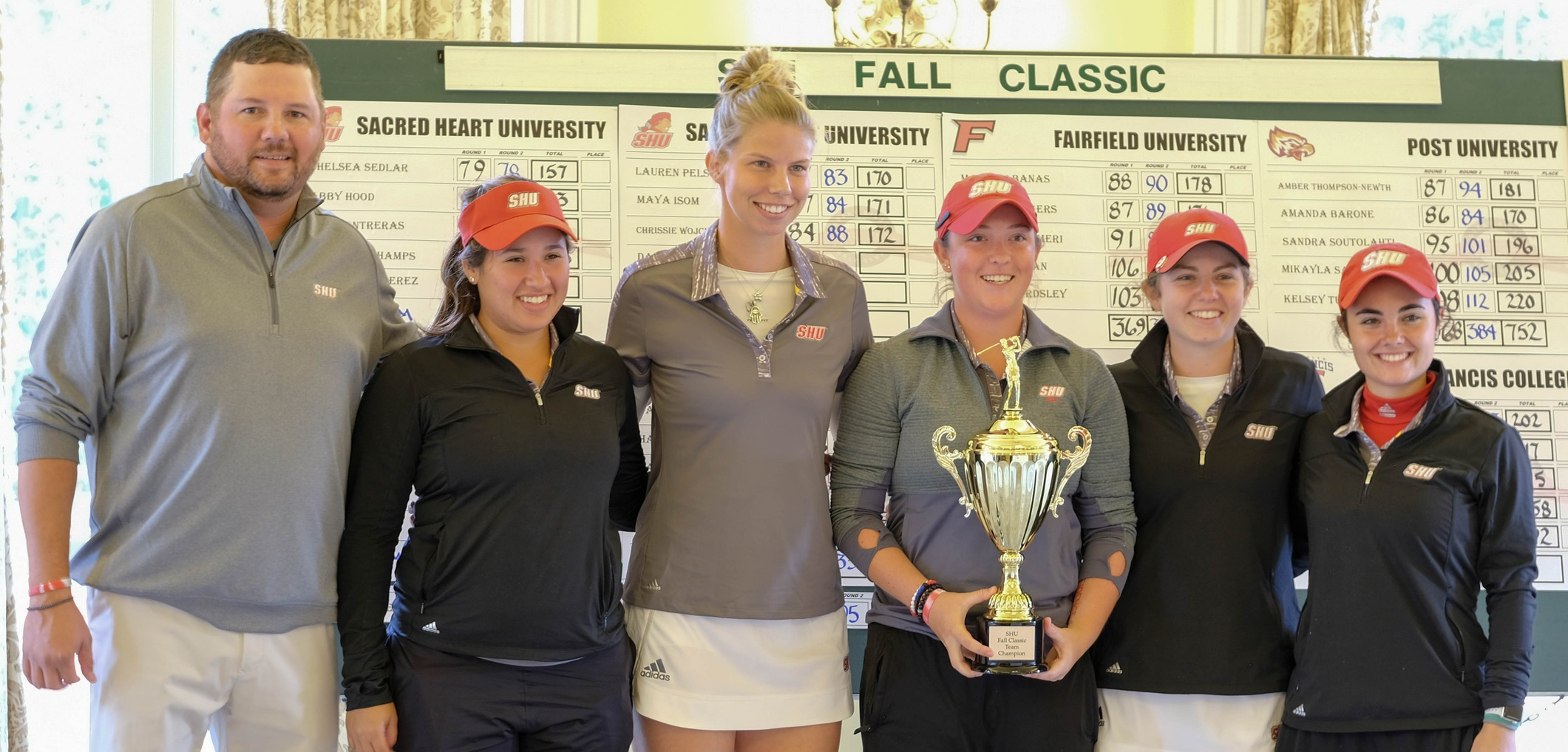 SHU Women's Golf Concludes Fall Slate With Win At SHU Fall Classic
