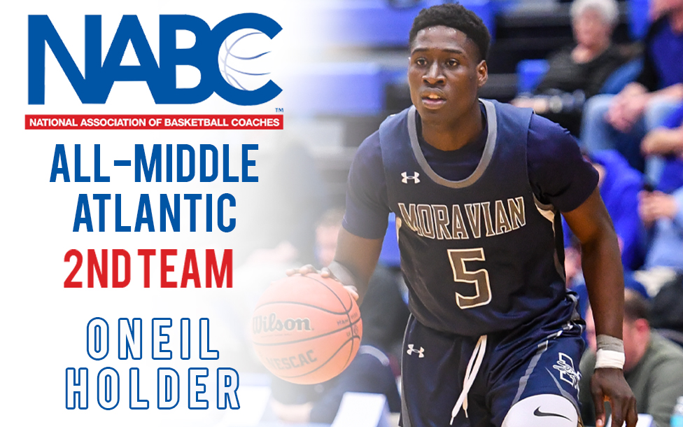 Oneil Holder named to NABC All-Middle Atlantic District Second Team