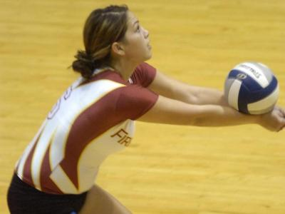 UDC Women's Volleyball Drops a Heartbreaker to Molloy, Losing in Three sets by a Total of Eight Points
