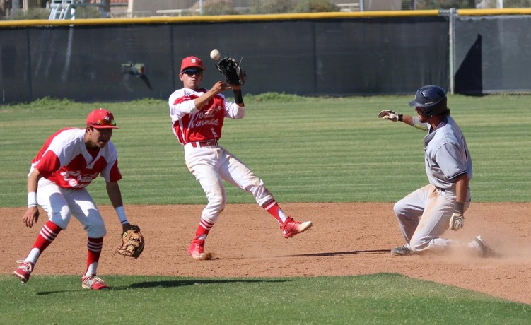 COD Baseball takes early lead, but falls to Olympians, 11-4
