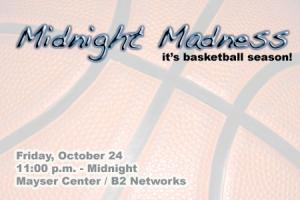 Midnight Madness Set for Friday