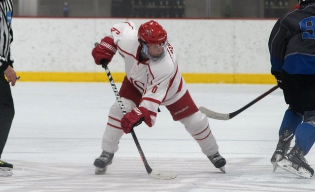 Hockey Opens Road Trip With Loss at Concordia College