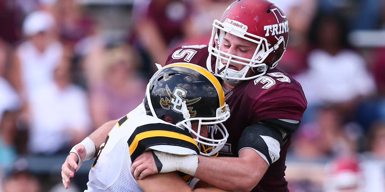 Luke Packard, Trinity University, Defensive Player of the Week (Week 11)