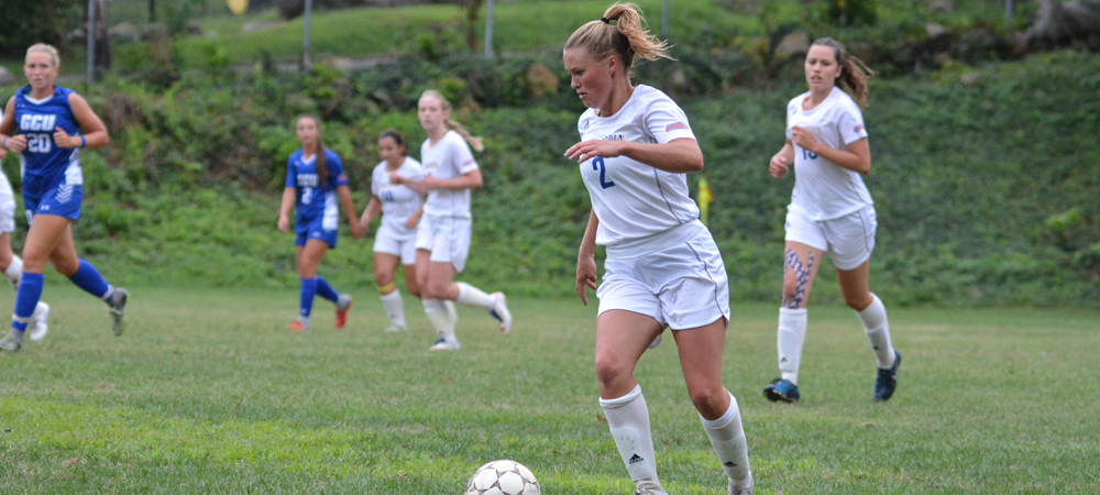 Calvert Scores Twice For Women's Soccer In 3-2 Victory Over Chestnut Hill
