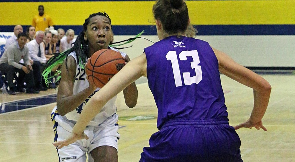 WBB | Voyageurs Close Out Season with Tough Loss to Thunderbirds