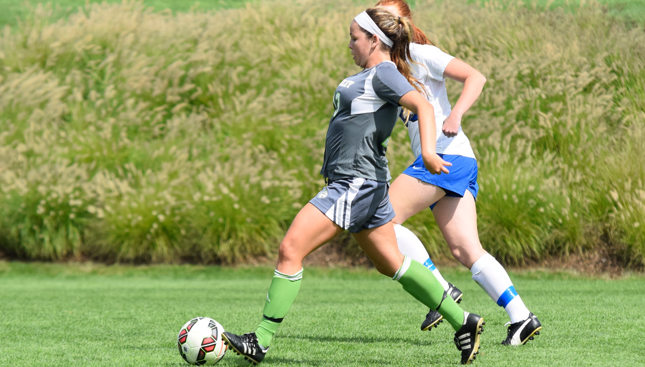 Rubin Lifts Lesley in  Second Half To Defeat Wellesley Soccer, 3-1
