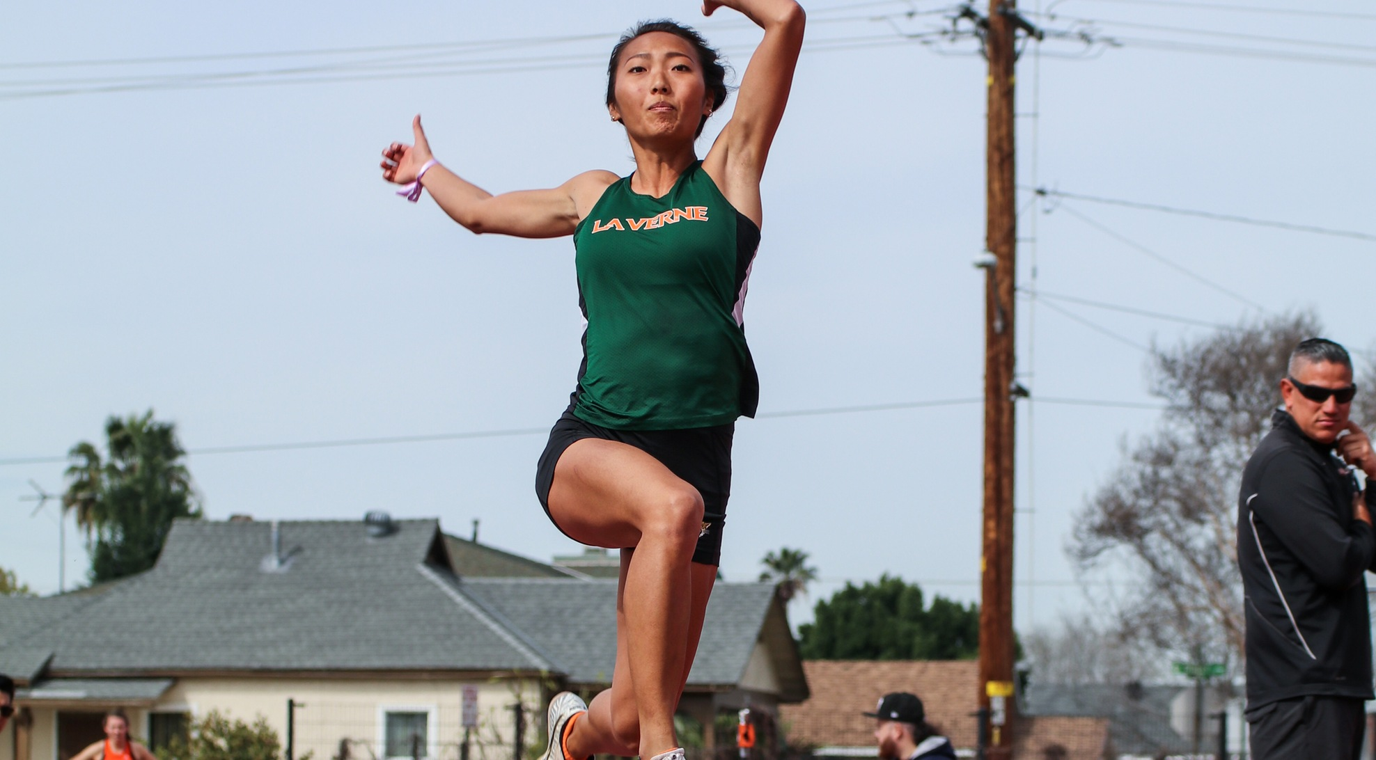 Lee Kim leads Women's Track & Field at SCIAC Multi-Dual