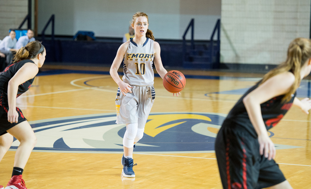 Emory Women's Basketball Wins At Agnes Scott