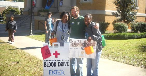 Bobcat Athletics Earns Red Cross Blood Drive Award