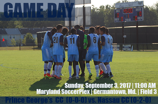 Sixth-Ranked Prince George's Men's Soccer Opens Season Against No. 5 Nassau On Sunday In Germantown