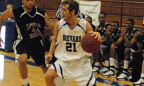 Cody Siniard had a career-high 16 points against Mars Hill