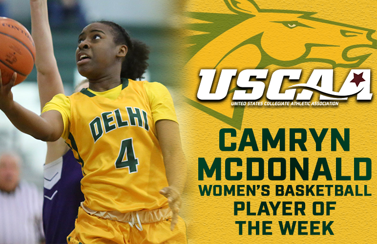 Camryn McDonald Earns USCAA Division II Player of the Week