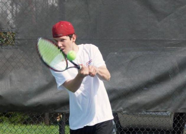 Guilford Men's Tennis Drops Conference Quarterfinal to Virginia Wesleyan, 5-2