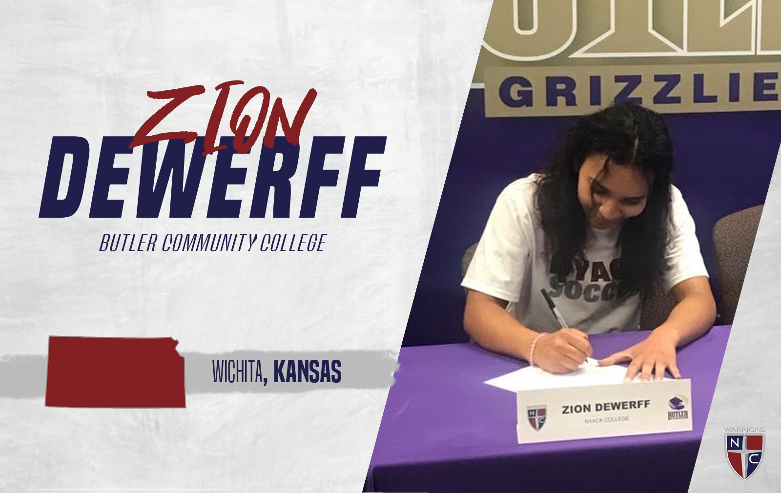 Women's Soccer Adds Zion Dewerff to the 2019 Roster
