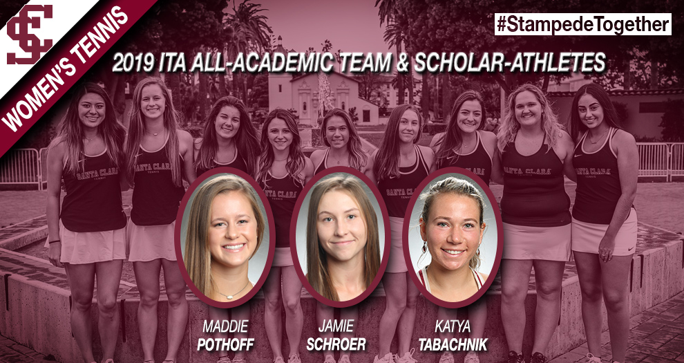 ITA 2019 All-Academic Team Recognition for Women's Tennis