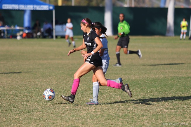 File Photo: Stephanie Nava scored one of the Falcons goal in their win