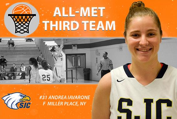 Iavarone Garners All-Met Third-Team Honors