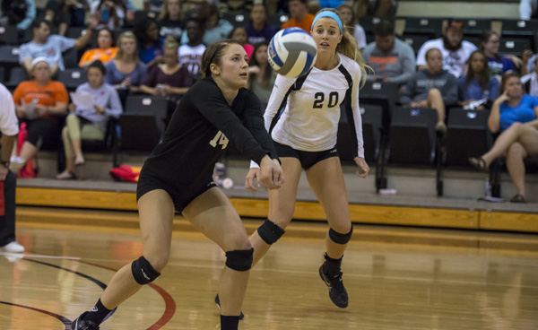 Volleyball falls in five at Brevard