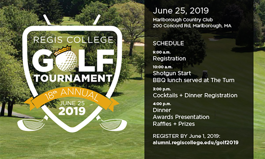 18th Annual Regis College Golf Tournament to Take Place June 25