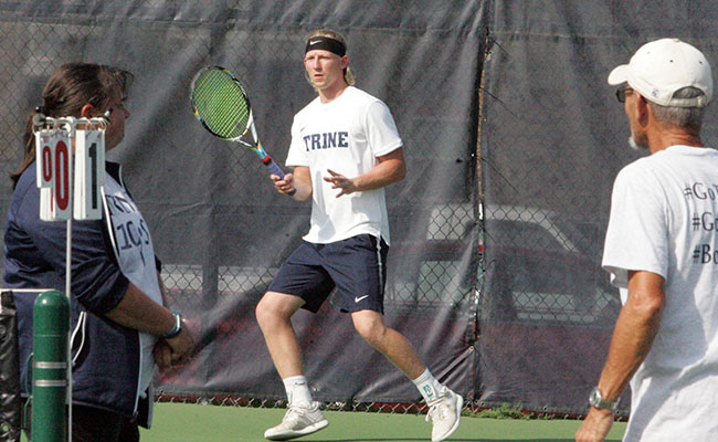 Men's Tennis Stumbles Against Hope