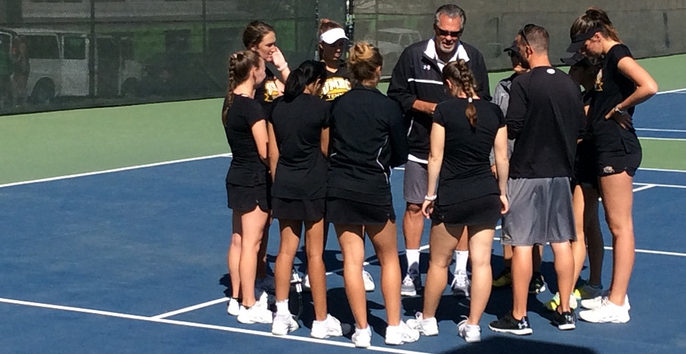 Ambrozic/Cleary Provide Doubles Fireworks, But Women's Tennis Falls to Stony Brook in AE Semis
