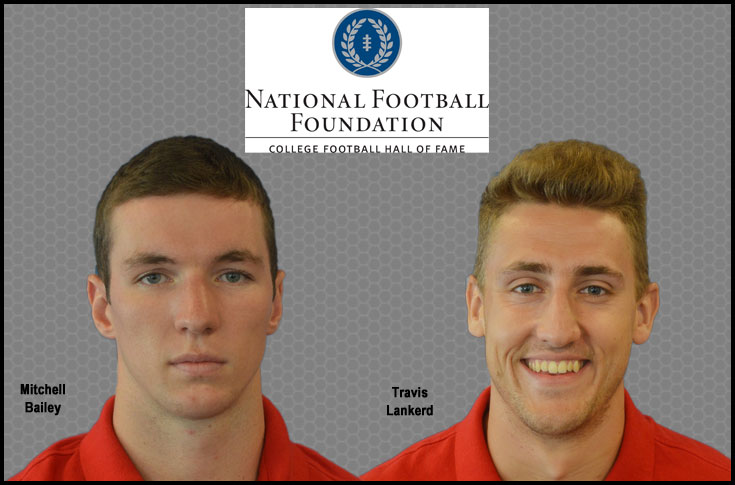 Olivet College's Bailey and Lankerd named to NFF Hampshire Honor Society