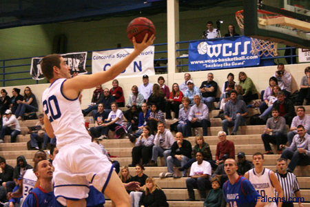 Men's Basketball hosts Marian in NAC Tournament Quarterfinals Tuesday
