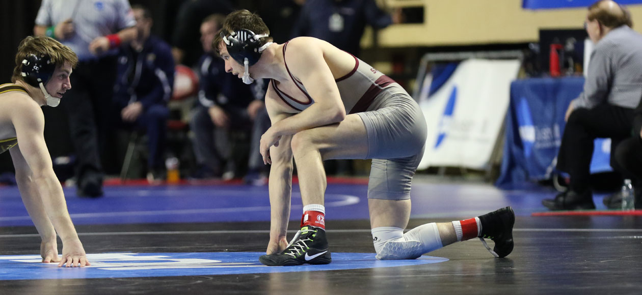 Tolotti Competes In NCAA Division III Wrestling Championships