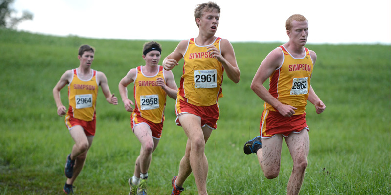 Men's cross country takes 2nd on home turf