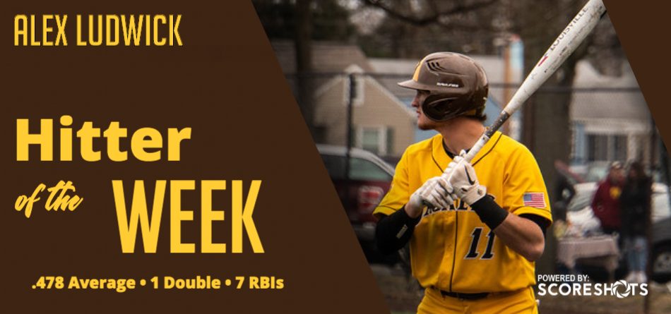 Ludwick Garners First Career OAC Hitter of the Week