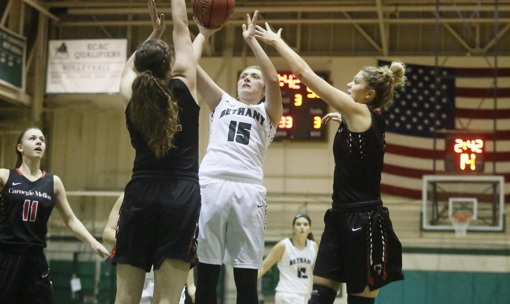 Bethany Charges Past Thiel
