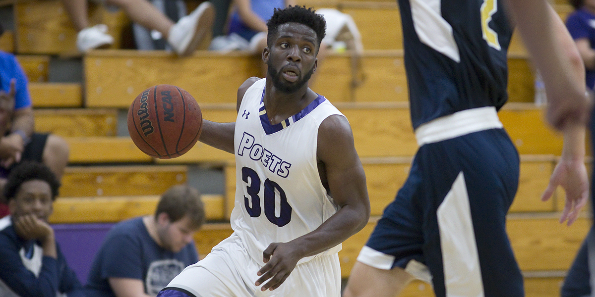Victor Nwaba pours in 26 in loss to Fighting Scots