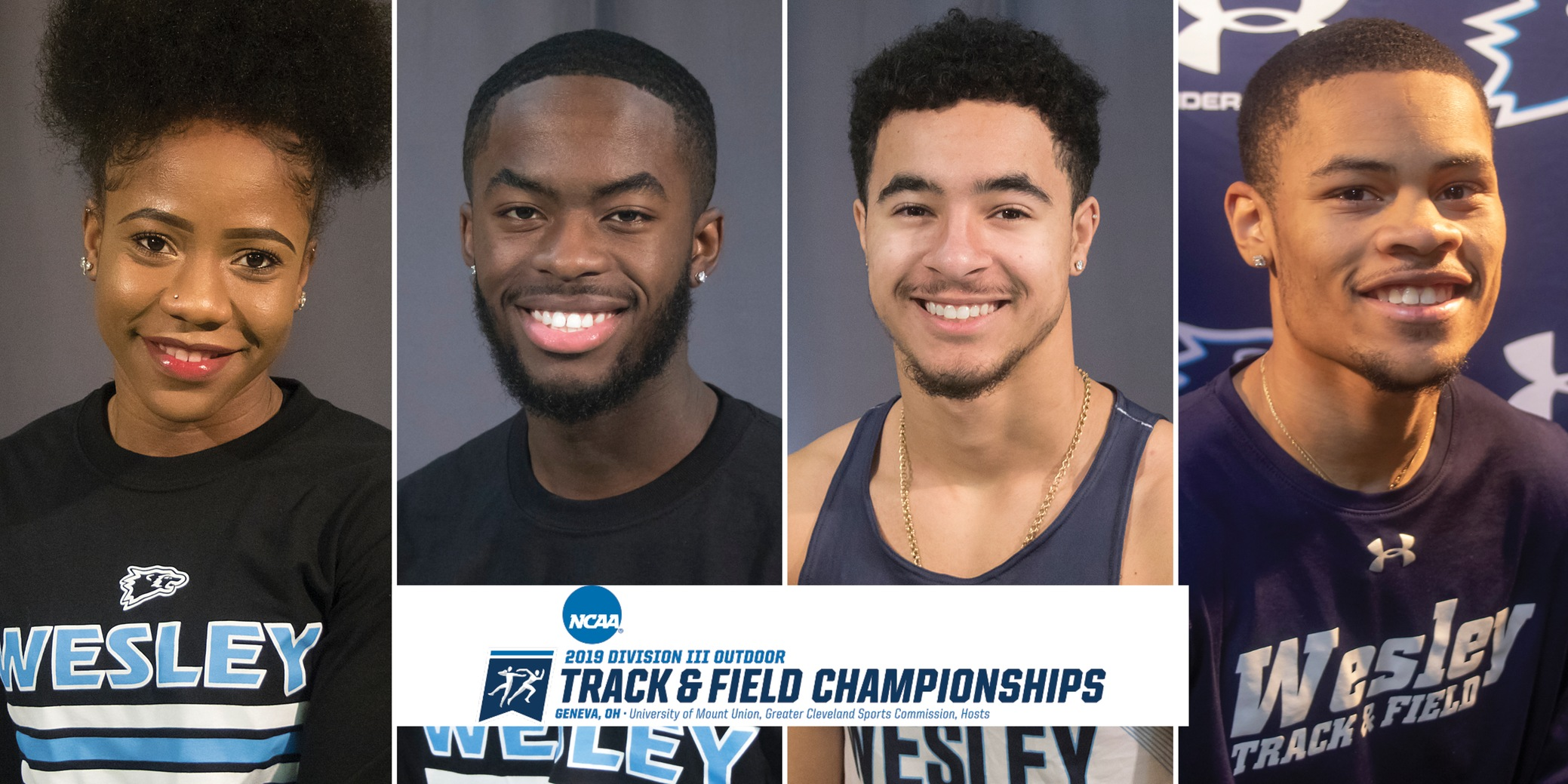 Four qualify for NCAA Outdoor Track & Field Championships