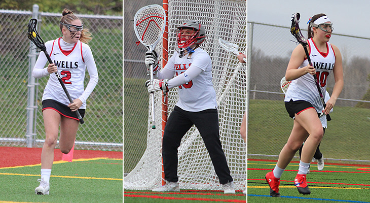 Three Women's Lacrosse Players Earn All-NEAC Honors
