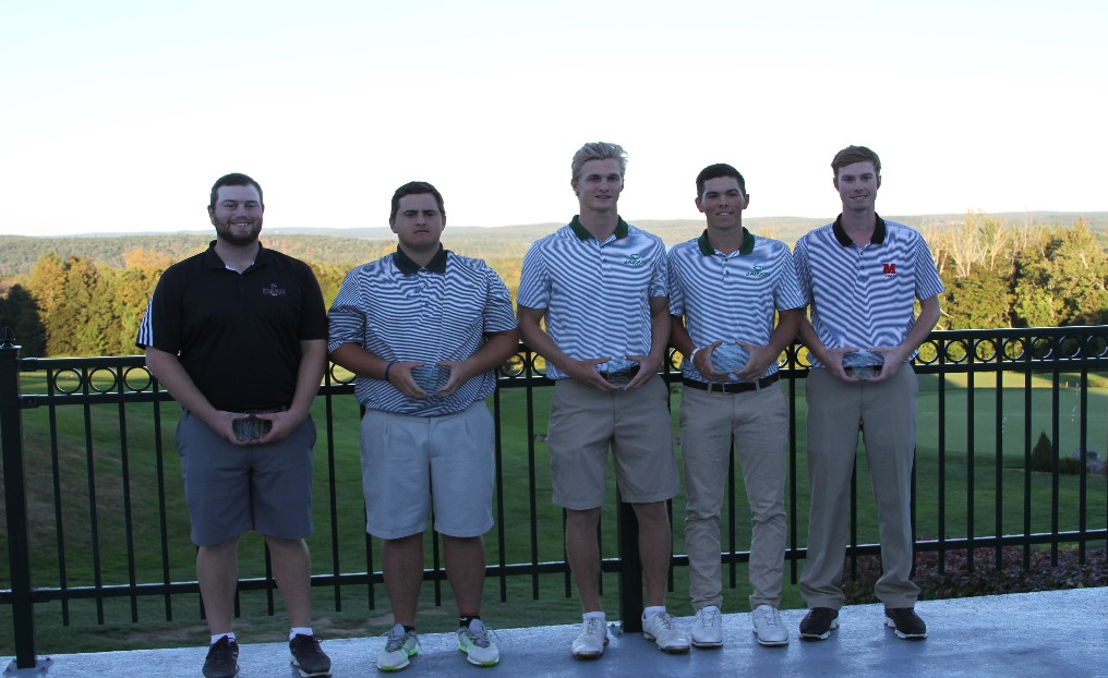 Golf Finishes Sixth at NECC Championship; Knisel Earns All-Conference Honors