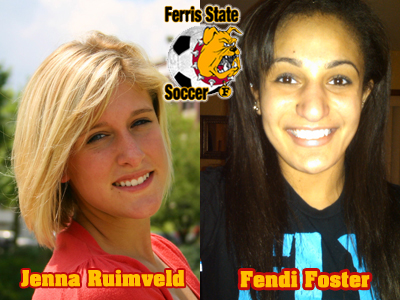 Bulldogs Add Jenna Ruimveld and Fendi Foster To 2011 Women's Soccer Class