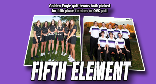 Tech men, women picked fifth in OVC preseason golf poll