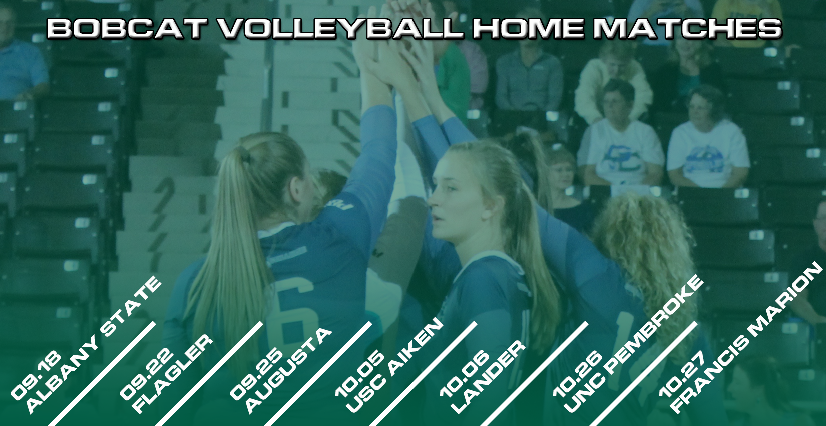 2018 Bobcat Volleyball Schedule