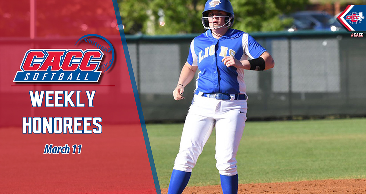 CACC Softball Weekly Honorees (March 11)