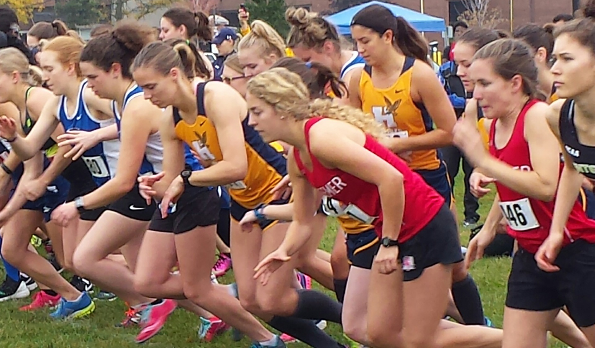 HAWKS MEN AND WOMEN JUST SHY OF OF PODIUM AT SENECA INVITATIONAL