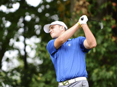 Men's Golf Tied for Third at New England Division I Championships