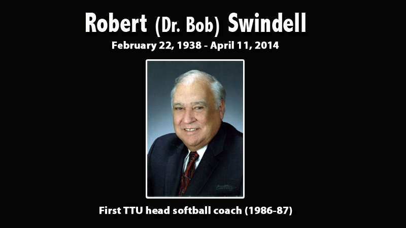 Athletics mourns the passing of Robert Swindell, first head coach in Tech softball history