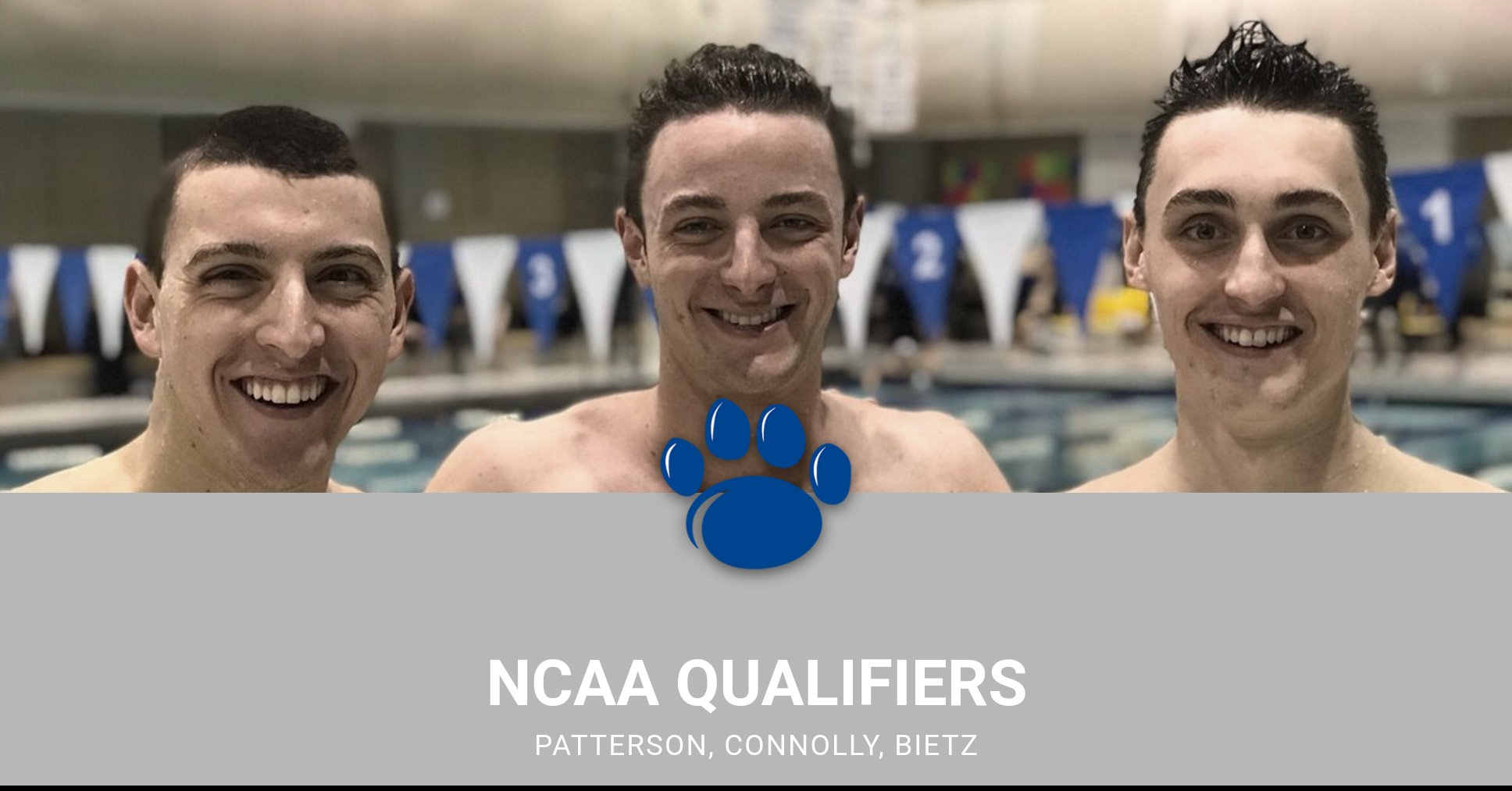 Men's Swimming and Diving Captures Blue Devil Invitational