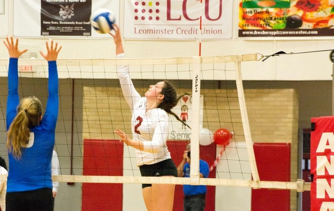 Volleyball Falls 3-0 in Match with WPI