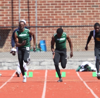 Rams Win Four Events at Oneonta State May Meet
