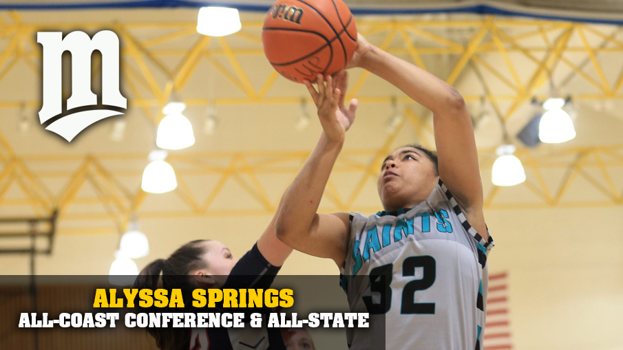 All-State basketball player Alyssa Springs