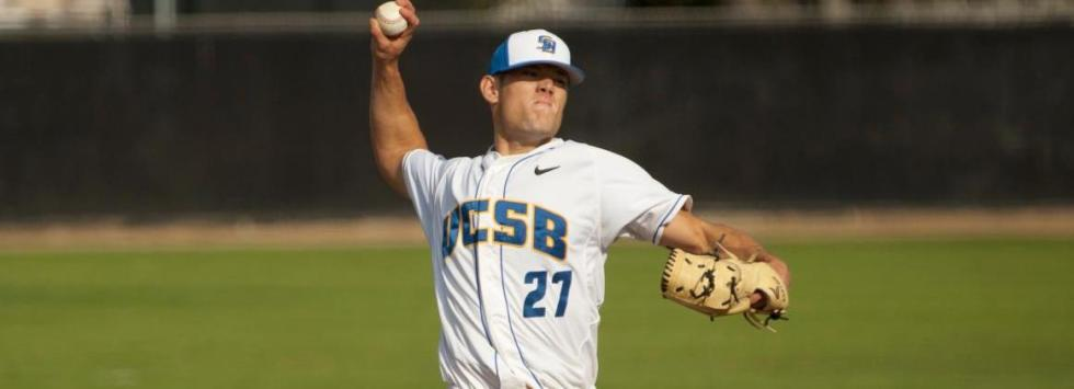 Vedo, Home Runs Spark Gauchos to 6-5 Win Over Cal Poly