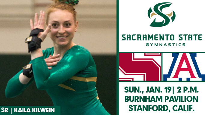 GYMNASTICS TRAVELS TO STANFORD TO FACE CARDINAL AND ARIZONA