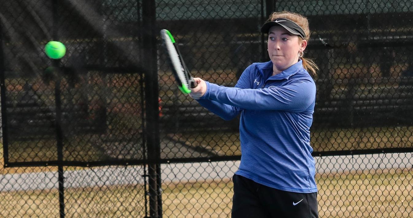 Lions Turn Back Brevard In Tennis Action